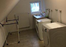 Gästehaus Bremerhaven Citysterne Wasch und Trockenraum