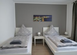 Ferienwohnung Bremerhaven Havencity Zweibettzimmer